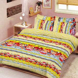 5D Premium Collection Double Bed Sheet-NA124