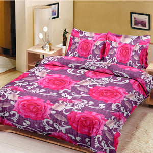 5D Premium Collection Double Bed Sheet-NA121