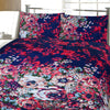 5D Oker's Island 100% Cotton Sutton Printed Double Bed Sheet & Pillow Set-NA6103