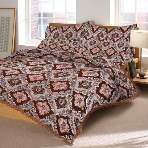 New Tilla Exclusive Jaquard Bed Sheets-TJBS12