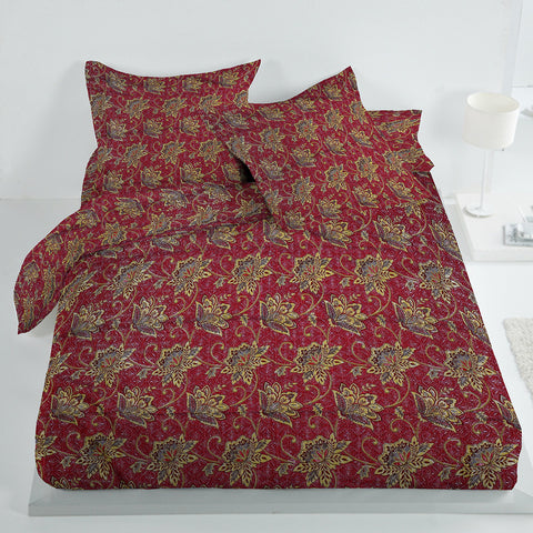 New Tilla Exclusive Jaquard Bed Sheets-TJBS11