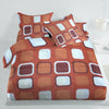 Oker's Island 100% Cotton Printed Double Bed Sheet & Pillow Set-NA6114