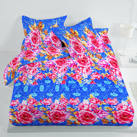 5D Premium Collection Double Bed Sheet-NA125