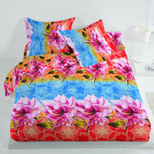 5D Premium Collection Double Bed Sheet-NA128