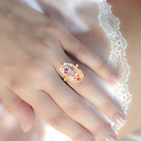 "Ladie's ""Stylish Ring""-BE369"