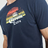 brandsego - Calypso Joe Crew Neck Half Sleeve Tee Shirt For Men-Light Navy-BE8196