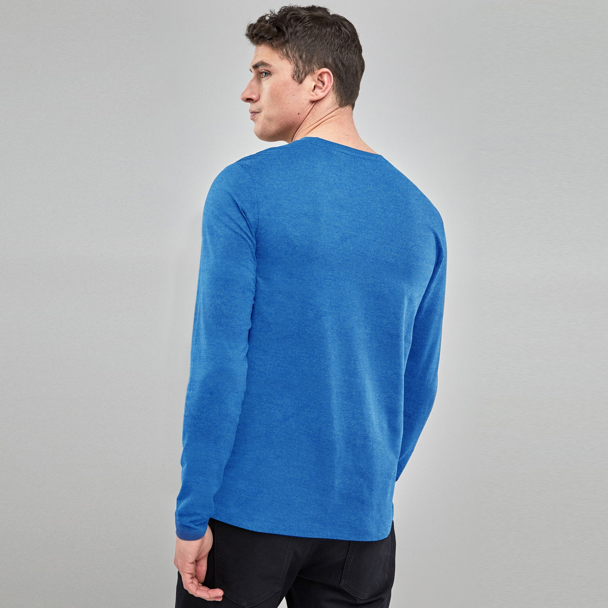 d9351a50 Beverly Hills Polo Club Single Jersey Long Sleeve Tee Shirt For Men-BE8177