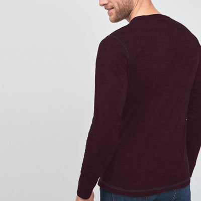 Beverly Hills Single Jersey Long Sleeve Tee Shirt For Men-BE8151
