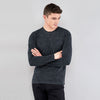 Beverly Hills Single Jersey Long Sleeve Tee Shirt For Men-BE8140