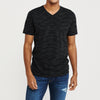 Beverly Hills V Neck Half Sleeve Tee Shirt For Men-BE8202