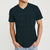 brandsego - Beverly Hills V Neck Half Sleeve Tee Shirt For Men-Dark Green Melange-BE8230