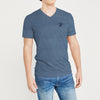 brandsego - Beverly Hills V Neck Half Sleeve Tee Shirt For Men-BE8240