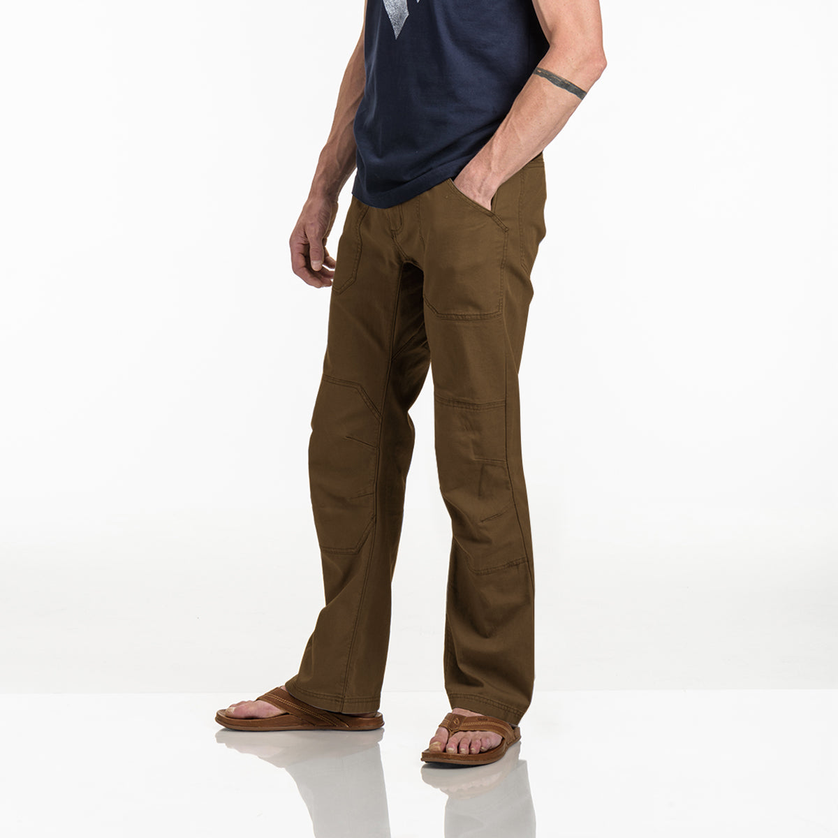 Black Diamond Chino Cotton Pant For Men-BE8849