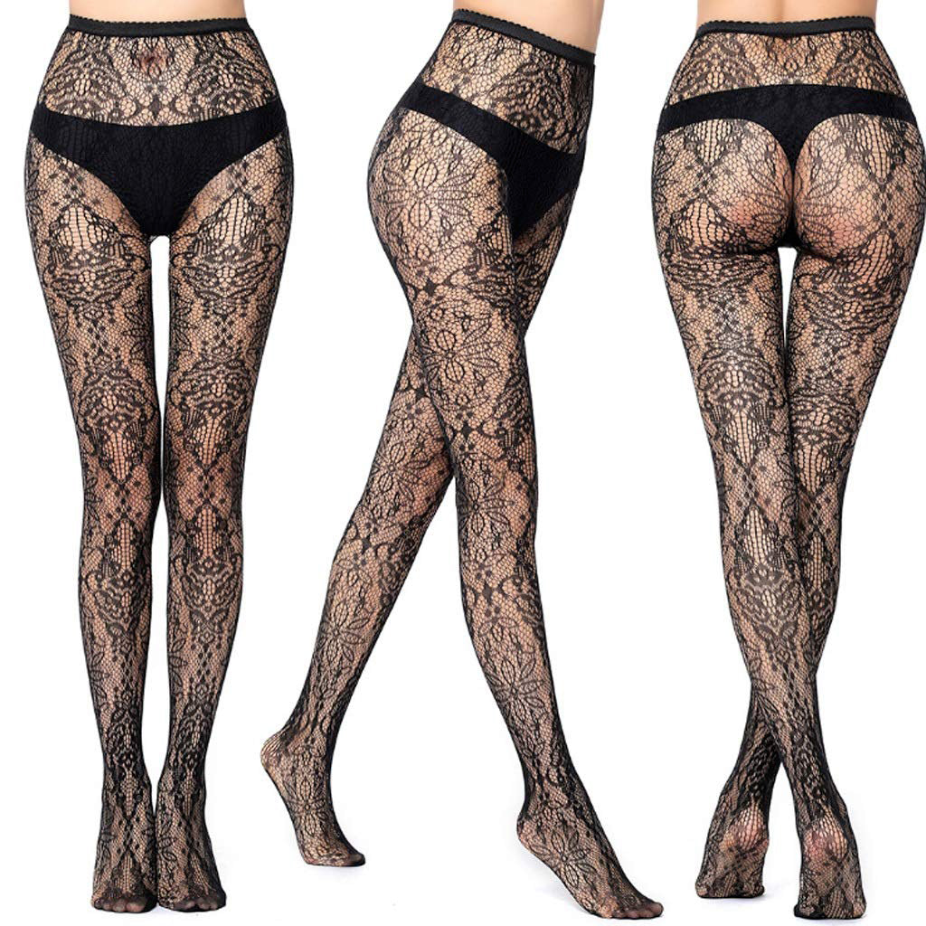 Body Stockings Fishnet Pattern Pantyhose Party Tights For Ladies-BE8883
