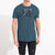 Boston Crew Single Jersey Tee Shirt For Men-Dark Bond Blue-BE586