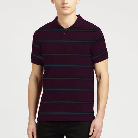 NEXT Polo Shirt For Men Cut Label-Striper-BE695