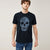 Calliope Crew Neck Tee Shirt For Men-Dark Navy-BE5912