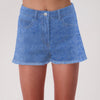 brandsego - Candy Denim Denim Short For Girls-Blue Faded-BE7085