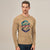 ChenOne Single Jersey Crew Neck T Shirt For Men-Light Camel-BE5902