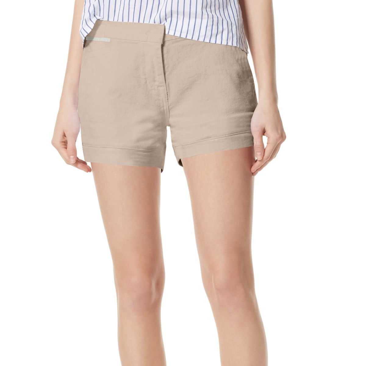 brandsego - Crew Clothing Co. Cotton Denim Skirt For Ladies-Skin-BE7064
