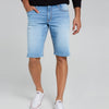 Denim Co. Cotton Short For Men-Light Sky -SP096