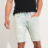 Denim Co Grinding Short For Men-Light Sky Faded-SP056