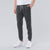 Diesel Summer Slim Fit Panel Trouser For Men-Dark Charcoal & Grey Melange Stripe-BE11975