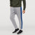 Diesel Summer Slim Fit Panel Trouser For Men-Light Grey & Blue Stripe-BE11922