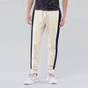Diesel Summer Slim Fit Panel Trouser For Men-Yellow Melange & Navy Stripe-BE11920