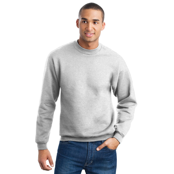 "Men's Cut Label ""Jack & Danny's"" Full Sleeve Crew Neck Sweat Shirt -Gray-JDSS014"