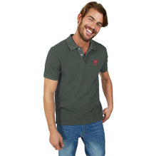 Fat Face Polo Shirt For Men-Dark Olive-BE2740
