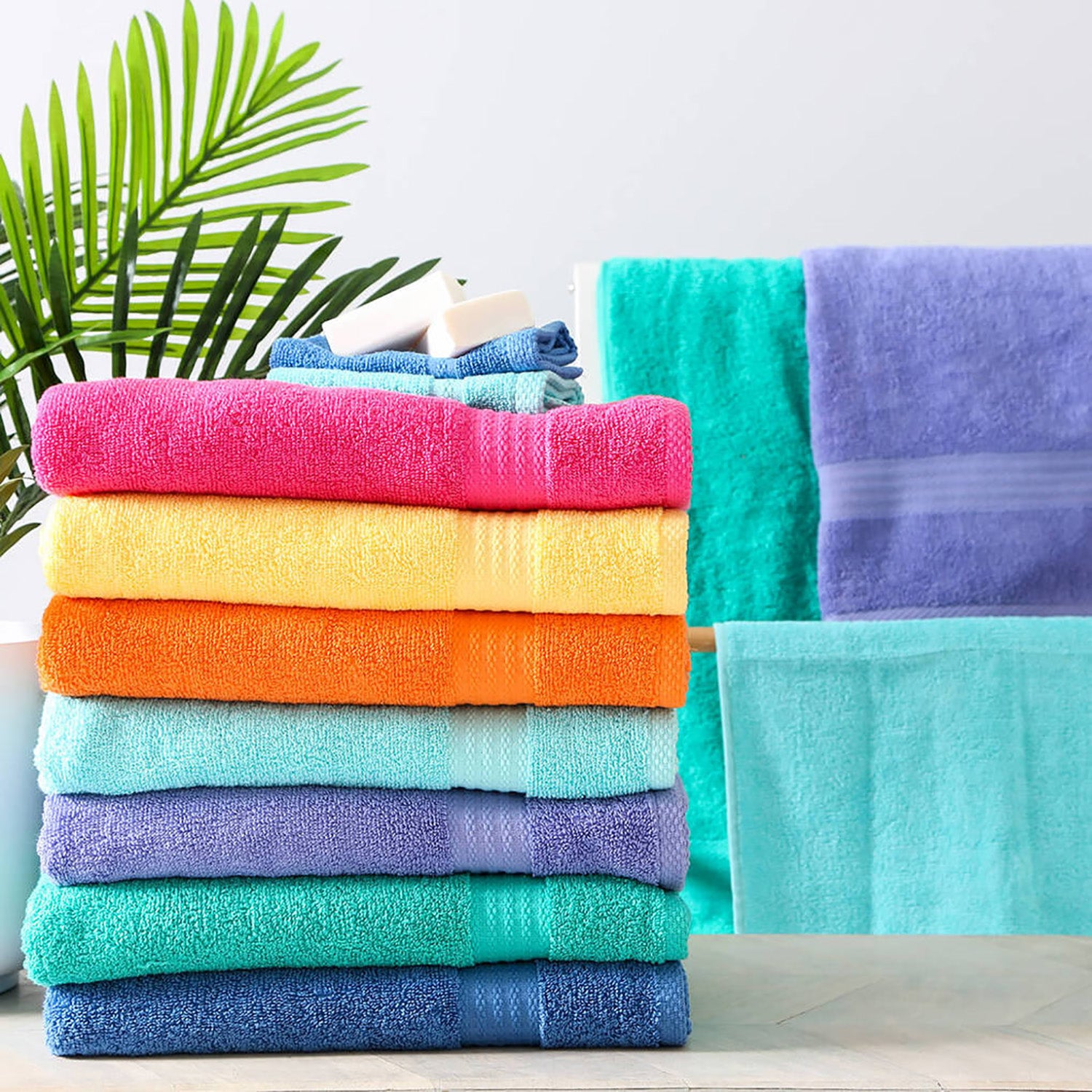 Pack of 6 Exclusive (12x12) Hand Towel Small-AN858