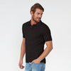 Fat Face Polo For Men Cut Label-Rosy Black-BE3218