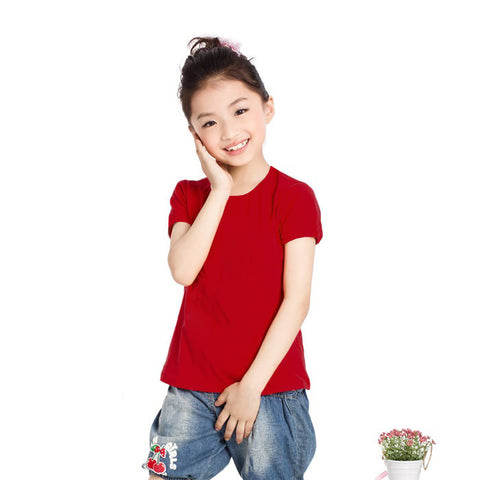 Next Half Sleeve T Shirt For Kid Cut Label -Red-BE2282