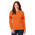 Exist Ladie's Pull Over Hoodie-Orange-BE5919
