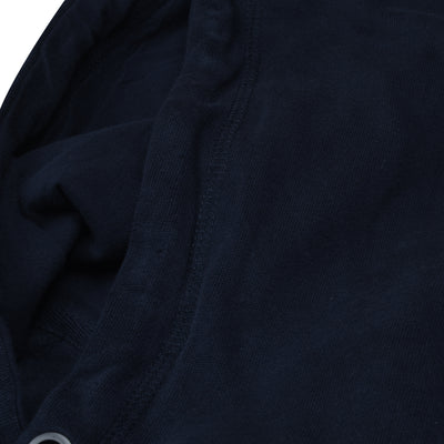 F&F Pullover Fleece Hoodie For Men-Dark Navy-BE6211