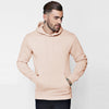 F&F Pullover Fleece Hoodie For Men-Light Peach-BE6206