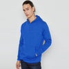 F&F Pullover Terry Fleece Hoodie For Men-Sky Blue-BE6927