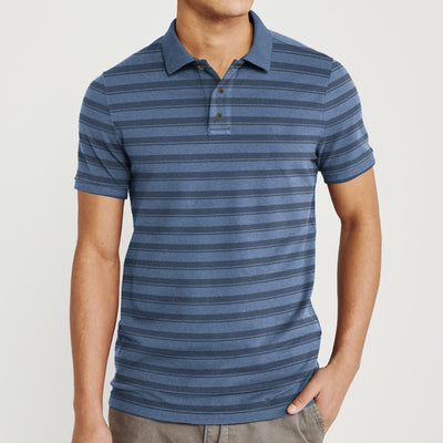 brandsego - Falls Creek Short Sleeve Single Jersey Polo Shirt For Men-BE9007