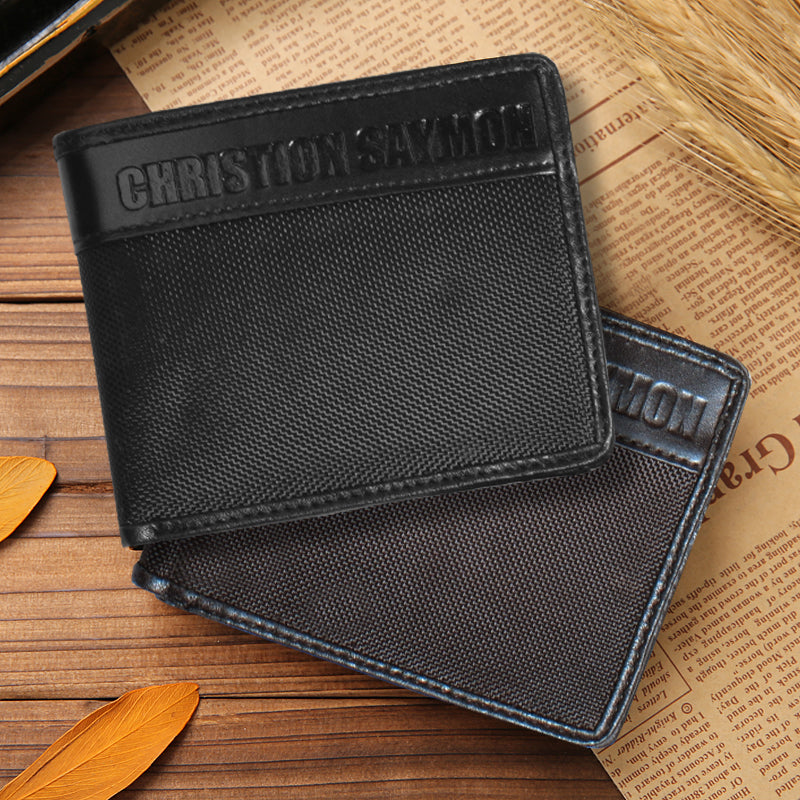 Christion Saymon Leather Wallet For Men-NA8032