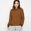 Fat Face Fleece Crew Neck Sweatshirt For Ladies-BE9878