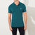 Fat Face P.Q Polo Shirt For Men-Dark Cyan Green-BE5701