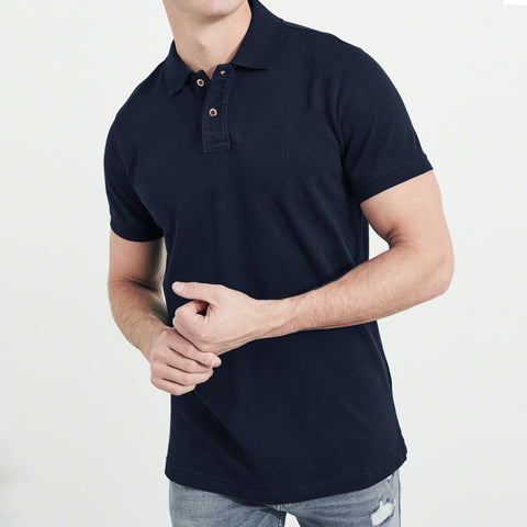 Fat Face-P.Q-Polo-Shirt-For-Men-Dark Navy-BE4789