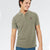 Fat Face P.Q Polo Shirt For Men-Light Olive-BE5657