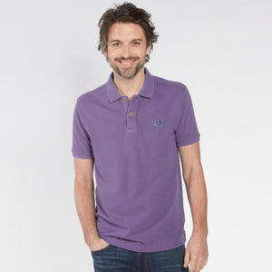 Fat Face-P.Q-Polo-Shirt-For-Men-Light Purple-BE4814