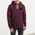 Fat Face Pullover Fleece Hoodie For Men-Maroon-BE6274