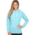 Fat Face Terry Fleece Pullover Hoodie For Ladies-Zink-BE6017