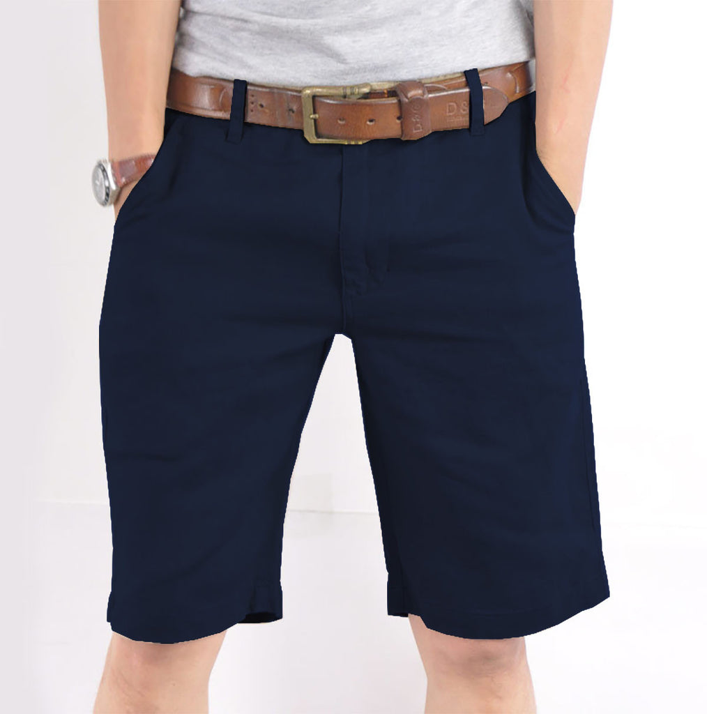 "Men's ""FIREFLY"" Cotton Short-Navy"