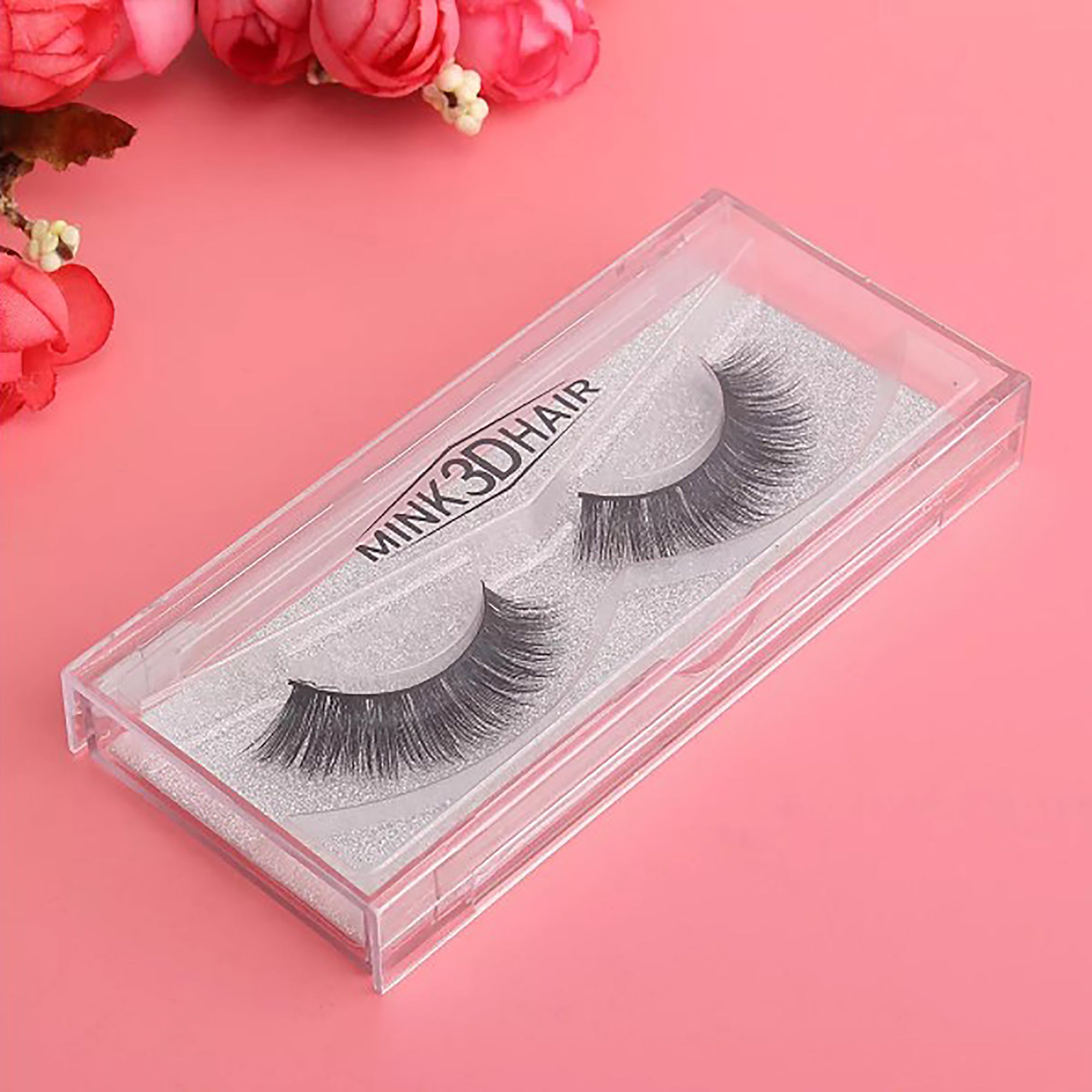 Tarte 3D Mink Hair Black False Eyelashes-SK0124