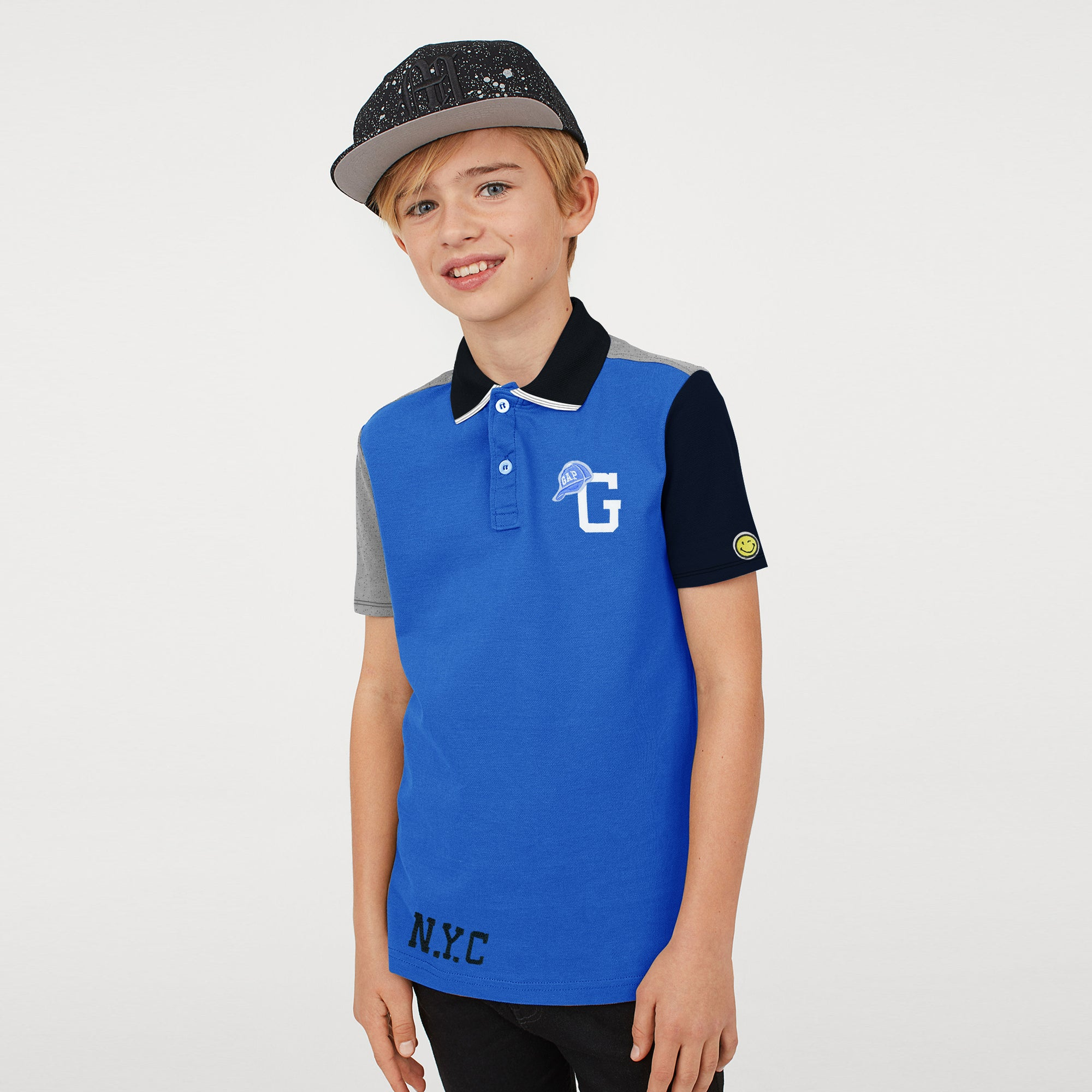 brandsego - GAP Half Sleeve P.Q Polo Shirt For Kids-BE8499